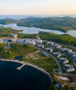 Уникальный кампус на острове Русский